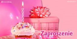 Zaproszenia na urodziny 1275